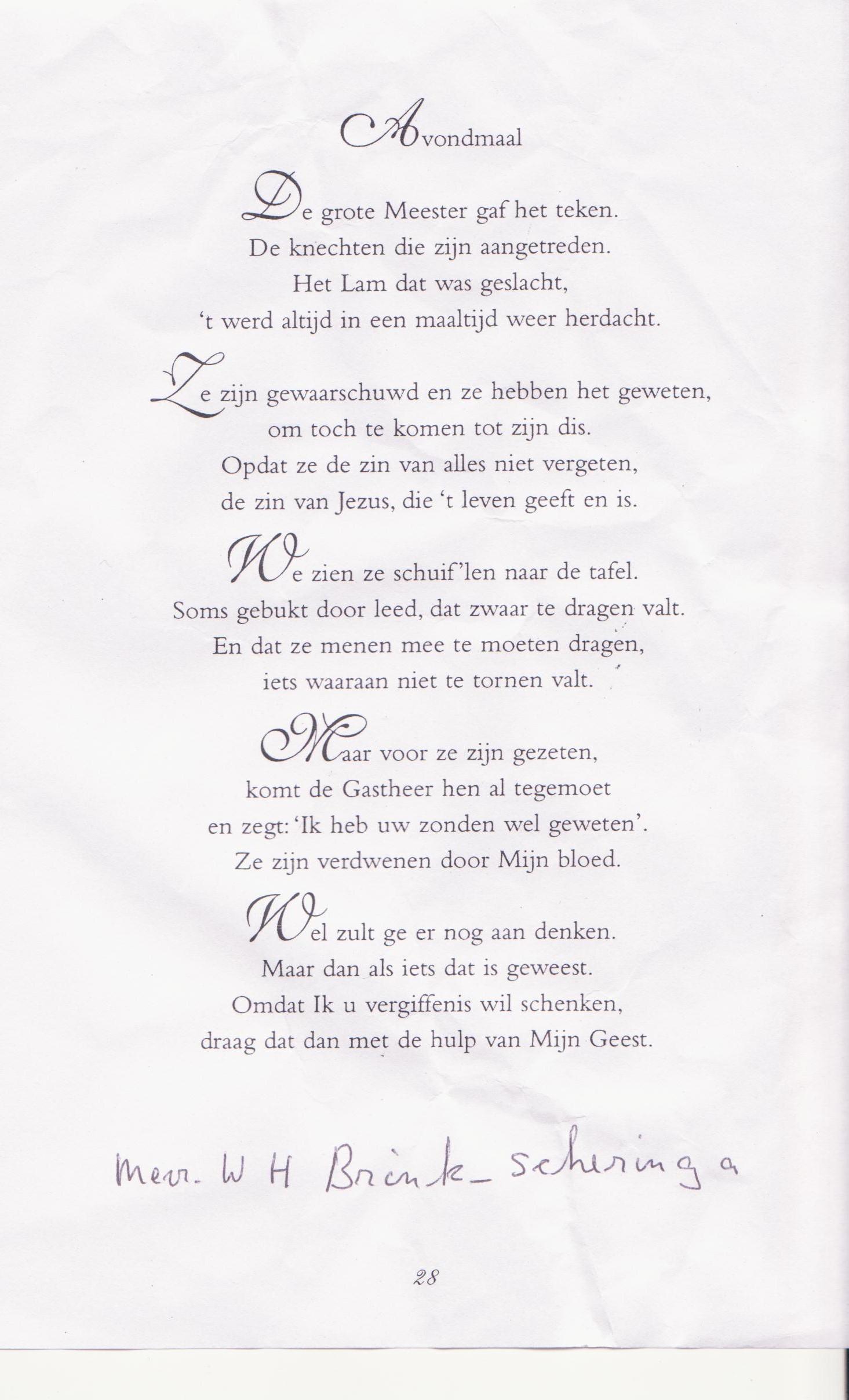 Bekend Gedicht van MANDELA &US85